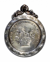 Front face of silver medal