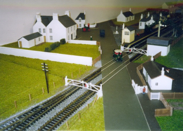 Working model of Insch Station